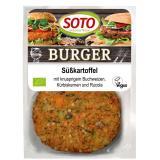 Süßkartoffel-Burger 160g, MHD bis 26.02, solange Vorrat reicht