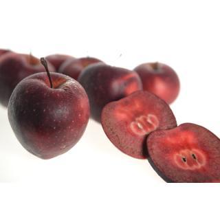 Äpfel Kissabel, rotfleischig, saftig lecker