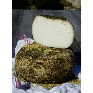 Hollerkäse, Ziegenschnittkäse, N 45% vom Berghof