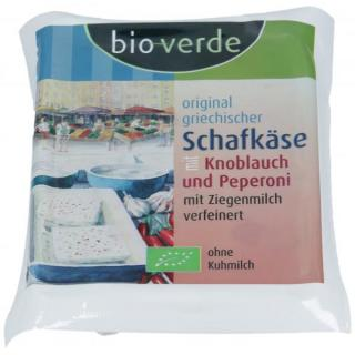 Schafkäse Knobl. Peperoni 150g