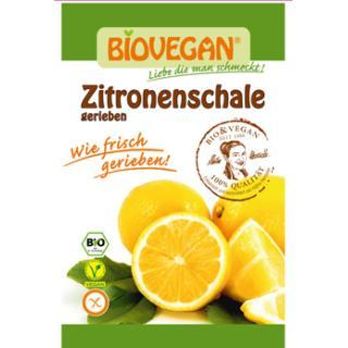 Zitronenschale gerieben 9g