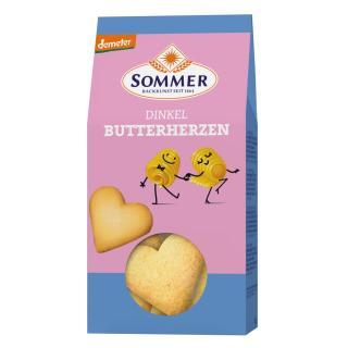 Dinkel Butterherzen 150g