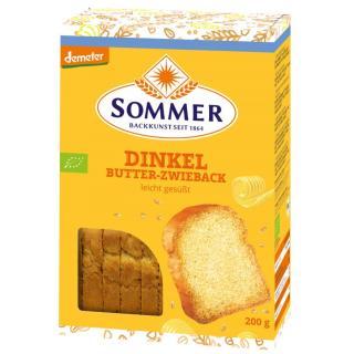Dinkel-Butterzwieback 200g