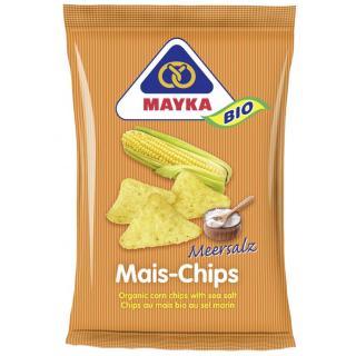 Mais Chips natur Meersalz 125g
