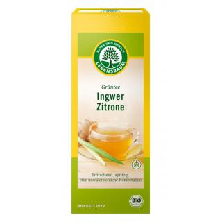 Grüntee Ingwer Zitrone TB 40g