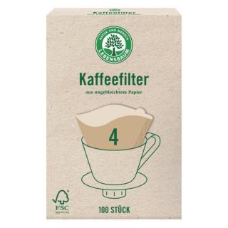 Kaffeefilter Gr. 4 Papier 100 S