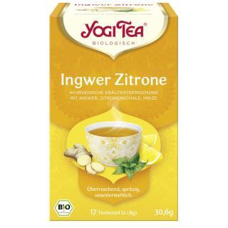 Yogi Tee Ingwer Zitrone 17 TB