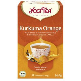 Yogi Tee Kurkuma Orange TB, 17x34g