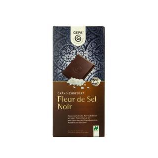 Grand Chocolat Fleur de Sel Noir 70%, 100g