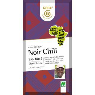 G-Bitter Schoko 85% Chili 80g
