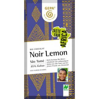 G-Bitter Schoko 85% Lemon 80g