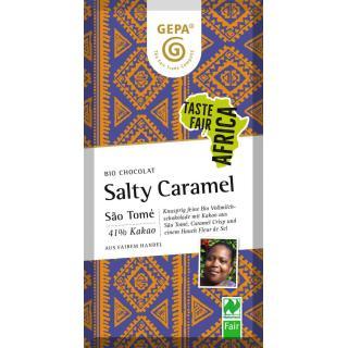 Bio Chocolat Salty Caramel, 41% Kakao,  80g