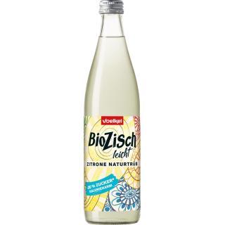 BioZisch leicht Zitrone naturtrüb, 10x0,5 l