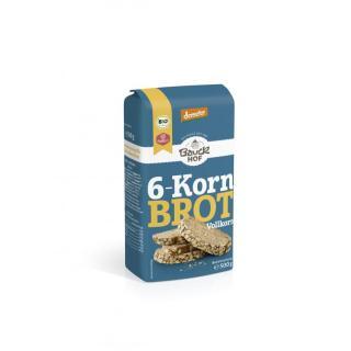 6x500g 6 Korn Brot Backmisch.
