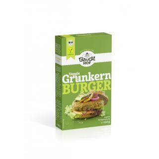 6x160g Grünkernburger