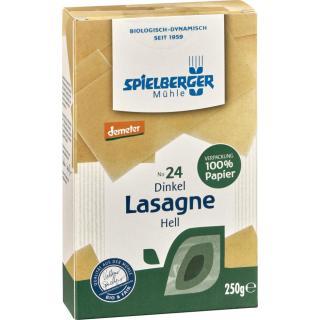 Dinkel Lasagne hell Spiel. 250