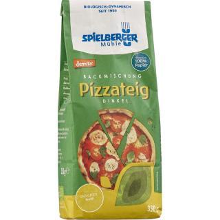 6x350g Dinkel Pizzateig Backmischung