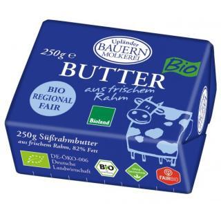 Butter Süßrahm 250g BIOLAND, Dauertiefpreis