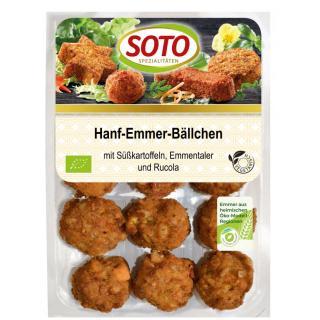 Hanf-Emmer Bällchen, vegetarisch,  180g