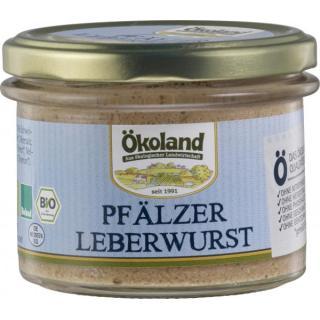 Pfälzer Leberwurst Gourmet Qualität im Glas, 160g