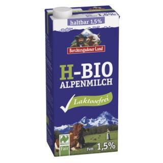 Laktosefreie H-Milch 1,5%  1l