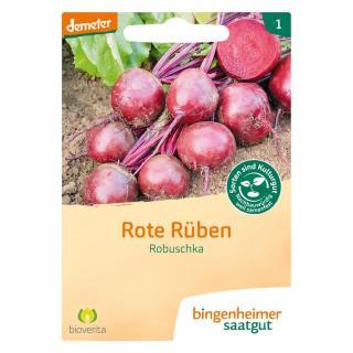 -Saatgut- Rote Bete Robuschka