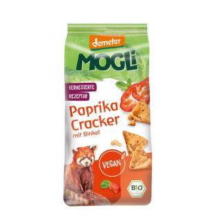 -GV- 6x125g    Mogli Bio Paprika Cracker