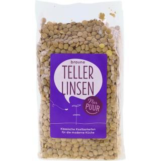 Braune Teller Linsen 500g