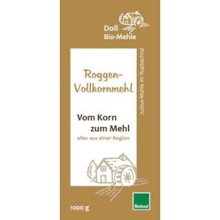 Doll  Roggen-Vollkornmehl 1kg