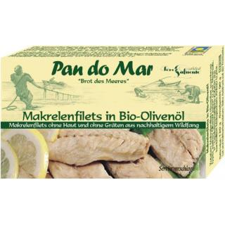 Makrelenfilet in Öl 120gPdM