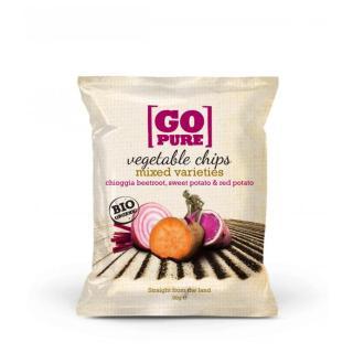 Gemüsechips Rote Beete Süßkartoffel 90g