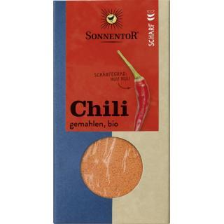 Chili gemahlen Tüte 40g